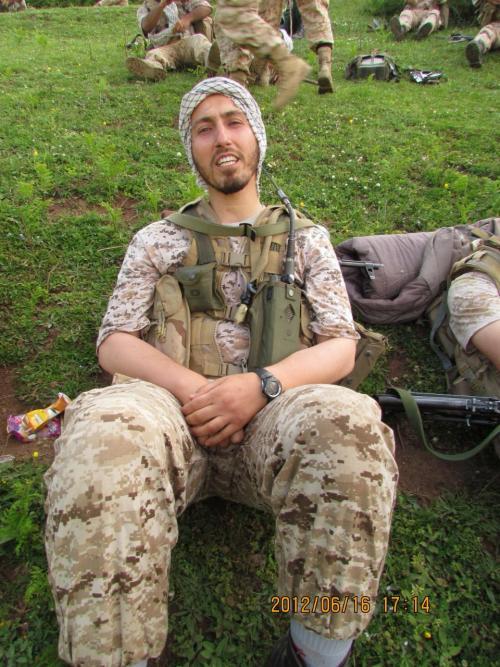 شهادت یک عضو سپاه در سامرای عراق (+عکس) / تشییع در گیلان