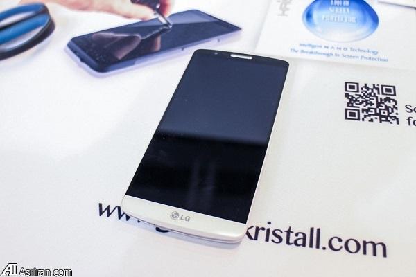 محافظت از نمایشگر تلفن همراه با محلول