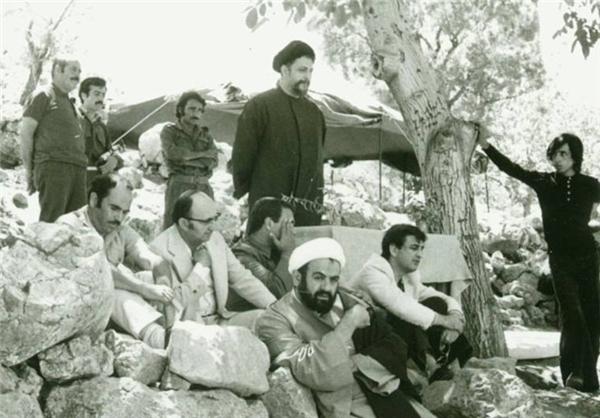 صادق طباطبایی در کنار امام ایران و لبنان (عکس)
