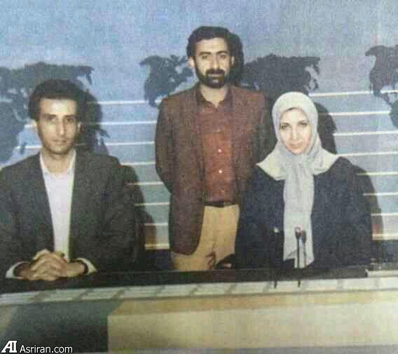 عکس قدیمی از 3 گوینده اخبار
