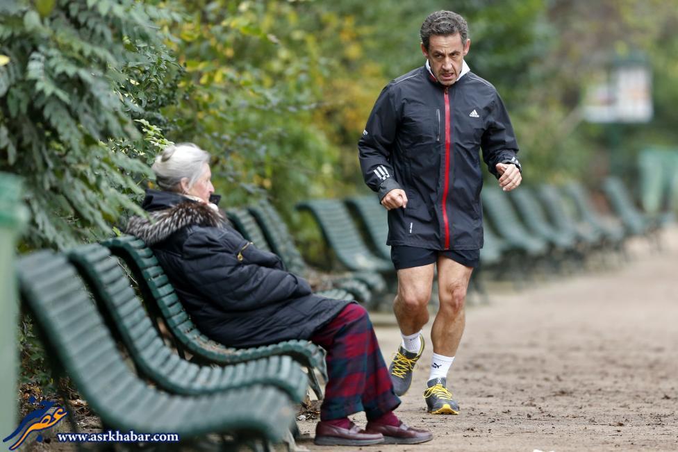 ورزش کردن سران جهان (عکس)