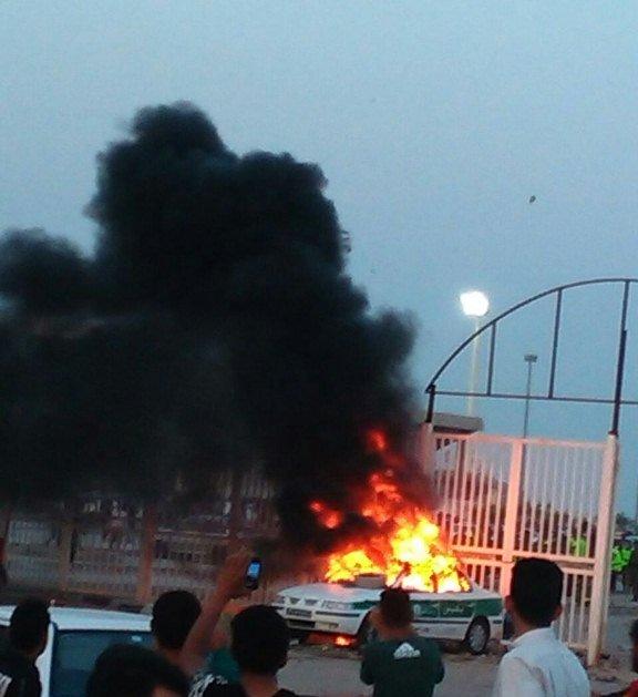 توضیحات ناجا درباره درگیری پس از بازی فولاد - الهلال در اهواز  / همه بازداشتی ها آزاد شدند/  تکذیب زخمی شدن 81 مامور پلیس