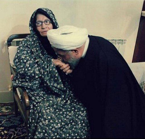 مادر رییسجمهور درگذشت