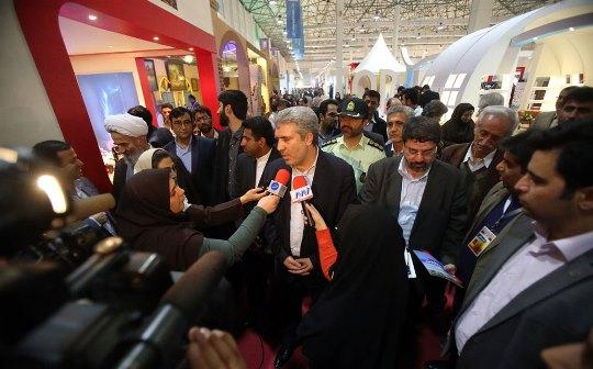 افتتاح نمايشگاه گردشگري در کیش