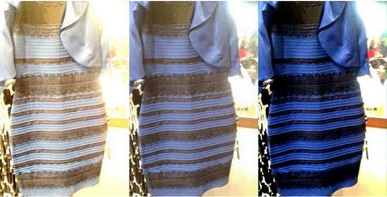 شما اين لباس را چه رنگی ميبينيد؟! (+عکس)