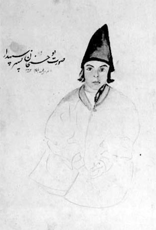 نقاشی های ناصر الدین شاه (+عکس)