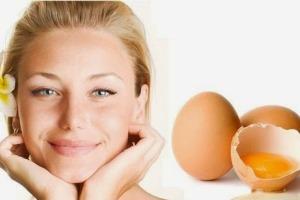 نقش تخم مرغ در زیبایی پوست