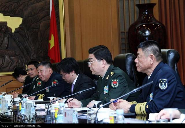 سفر  وزیر   دفاع  به  چین  (عکس)