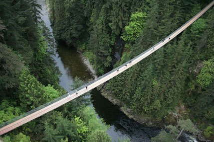 بلندترین پل معلق جهان (+عکس)