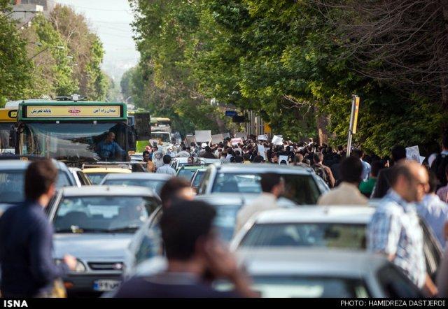 تجمع عفاف و حجاب در میدان فاطمی