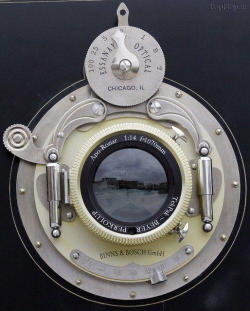 بزرگترین دوربین عکاسی دنیا (+عکس)