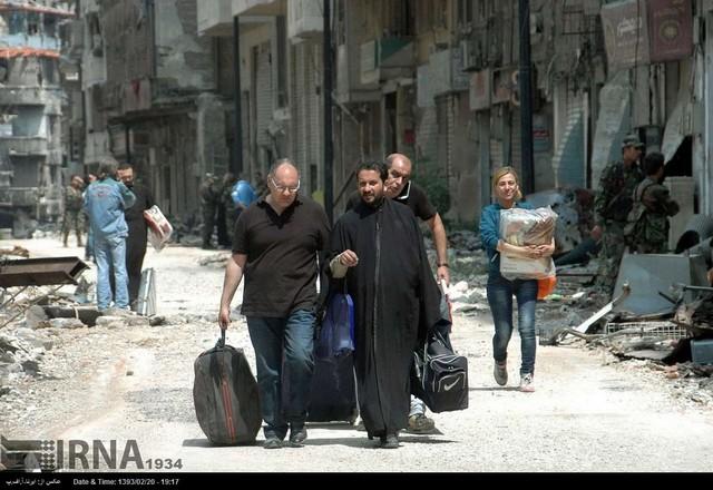 بازگشت زندگی به حمص سوریه (عکس)