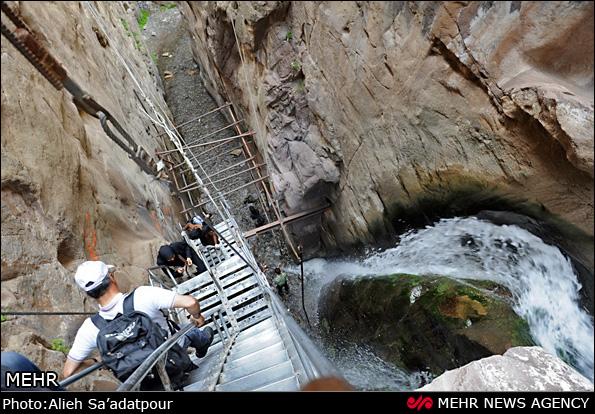 آبشار قرهسو - خراسان (عکس)