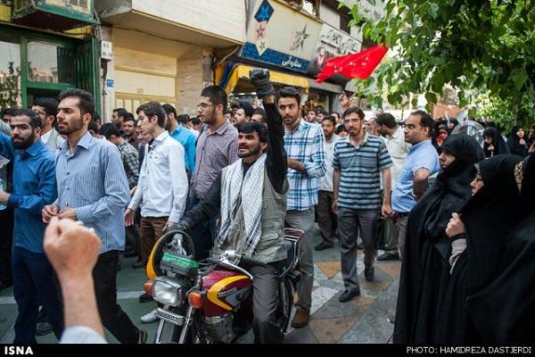 «آقا دوربینی» ها از تجمع حجاب تا خاکسپاری محمدرضا لطفی (عکس)
