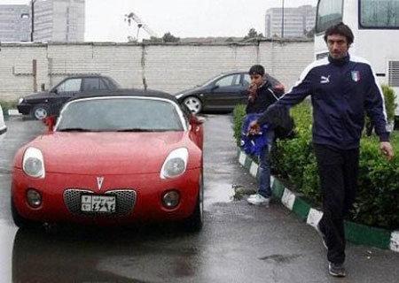 فوتبالیستهای معروف چه ماشینی سوار میشوند (عکس)