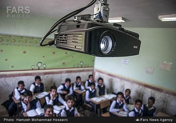 کلاسهای درس هوشمند - دماوند (عکس)
