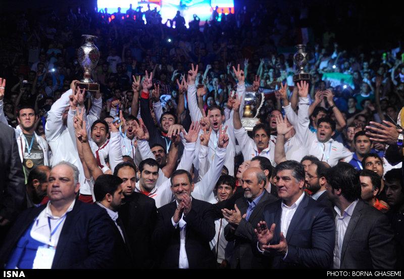 ایران قهرمان جام جهانی کشتی شد