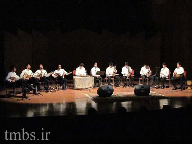 کنسرت «ارکستر موسیقی ایرانی» در تهران (+عکس)