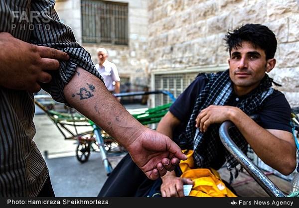 باربران بازار تهران (عکس)