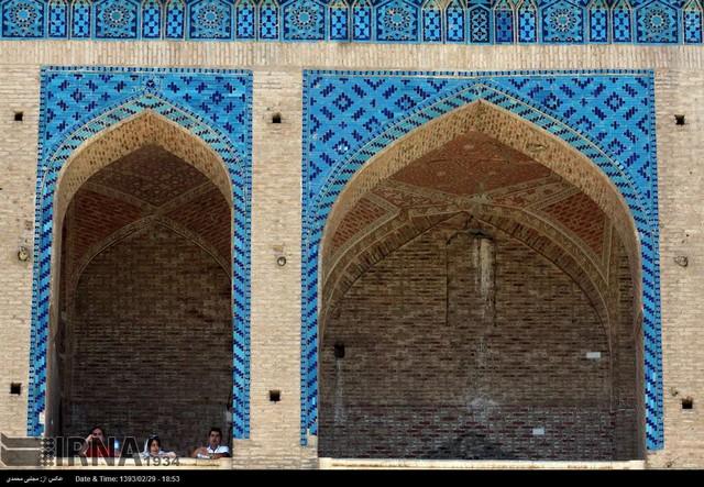 ع سلطانیه راضیه گنبد سلطانیه - زنجان (عکس)