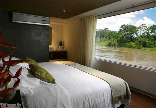 هتل 5 ستاره دریایی (عکس)