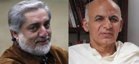 اعلام نتیجه انتخابات افغانستان: عبدالله عبدالله و اشرف غنی به مرحله دوم رفتند