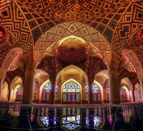 347777 977 مسجد نصیرالملک شیراز