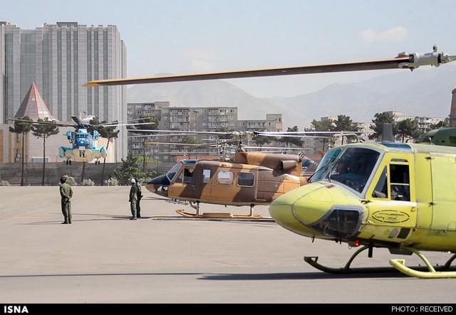 تحویل 20 بالگرد از سوی وزارت دفاع به نیروهای مسلح (عکس)