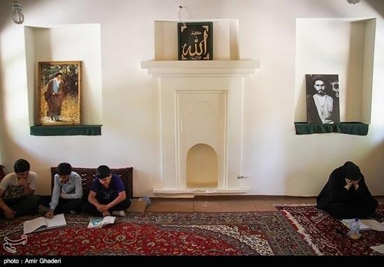 منزل امام خمینی (ره) در خمین (عکس)