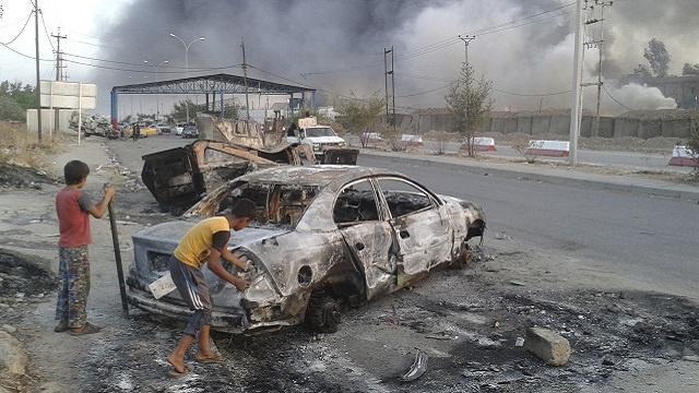 سقوط تکریت در 150 کیلومتری بغداد/ استاندار صلاح الدین ربوده شد / درخواست نوری مالکی از آمریکا برای دخالت نظامی