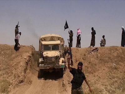 مرز سوریه و عراق در کنترل داعش/ درگیری داعش با نظامیان کردستان عراق/ سقوط تکریت در 150 کیلومتری بغداد/ استاندار صلاح الدین ربوده شد / درخواست نوری مالکی از آمریکا برای دخالت نظامی
