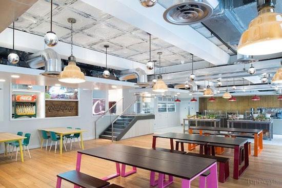دفتر شرکت کوکاکولا در لندن (عکس)