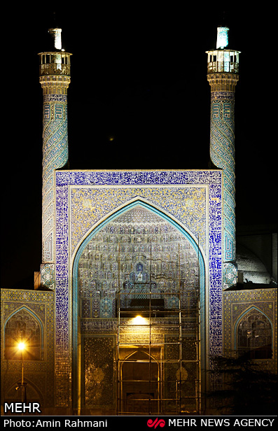 معماری چشمگیر میدان نقش جهان - اصفهان (عکس)