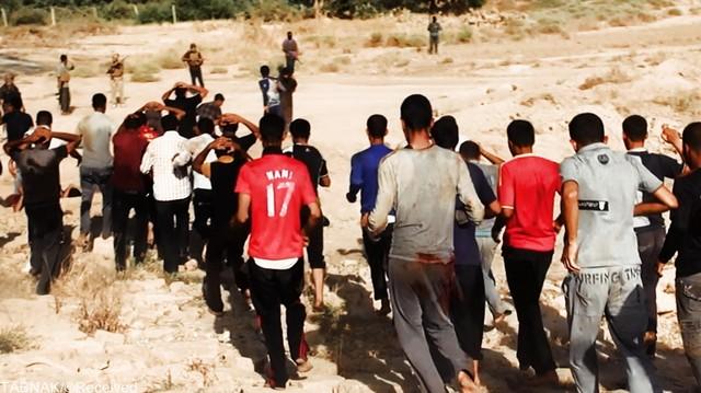 تصاویر جنایت های وحشیانه داعش