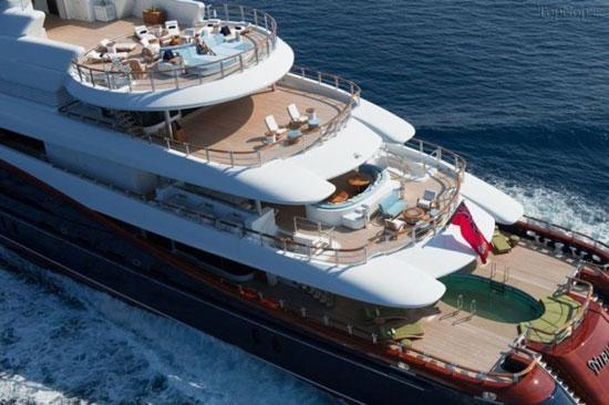 این کشتی رویایی مخصوص پولدار ها است! (+عکس)