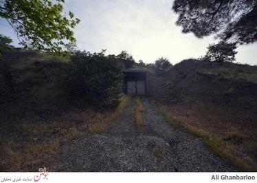 پناهگاهی در کوه برای امام راحل (+عکس)