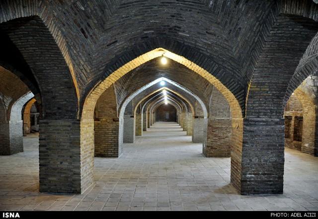 مسجد جامع بروجرد -شاهکار معماری لرستان (عکس)