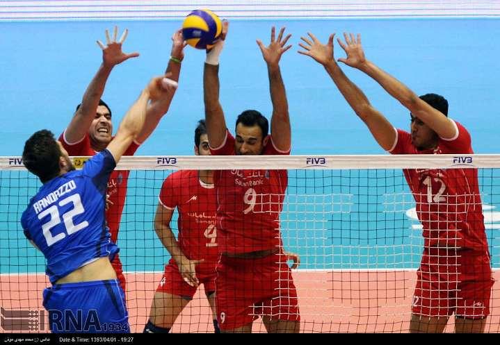 لیگ جهانی والیبال: ایران 2 - 0 ایتالیا (به روز می شود)