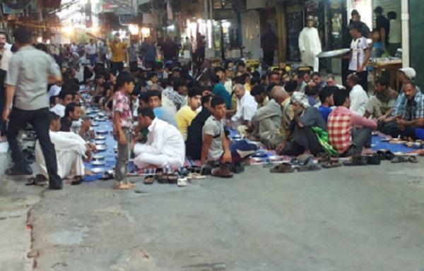 سفرههای افطار از کربلا تا مسجدالاقصی (عکس)