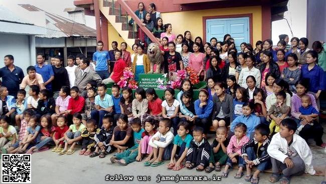 مردی با 39 همسر، 94 فرزند و 33 نوه در ساختمان 100 اتاقه (+عکس)