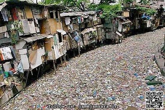 کثیفترین رودخانه دنیا (عکس)