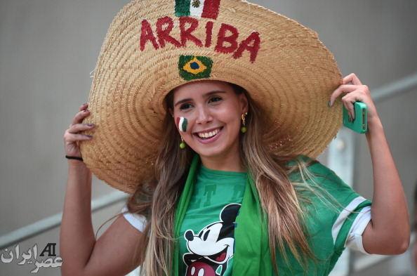 تماشاگران جام جهانی برزیل (عکس)