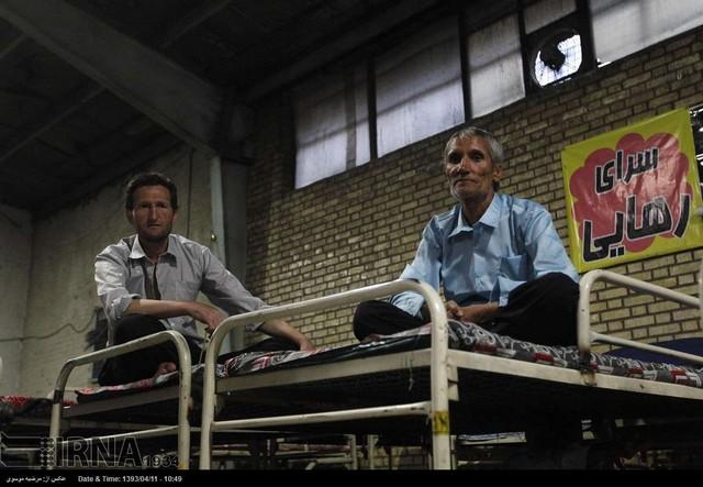 گرم خانه خاوران تهران؛ سرپناه بی خانمان ها و کارتن خواب ها (عکس)