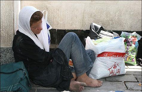 زنان كارتن خواب ،تن فروشي،اعتياد،خشونت
