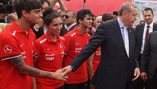اعتراض اردوغان به