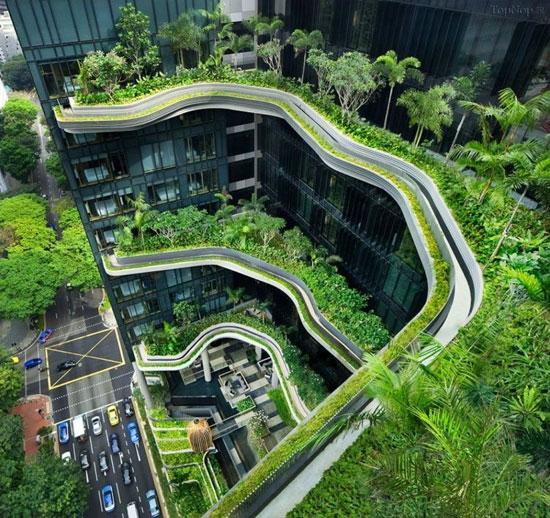 هتل پارك رویال در سنگاپور (+عکس)