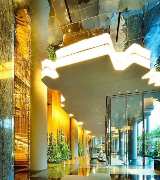 هتل پارک رویال در سنگاپور (+عکس)