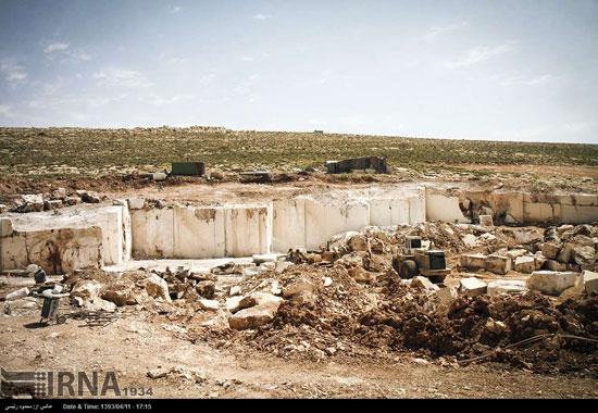 معدن سنگ بابا حیدر (عکس)