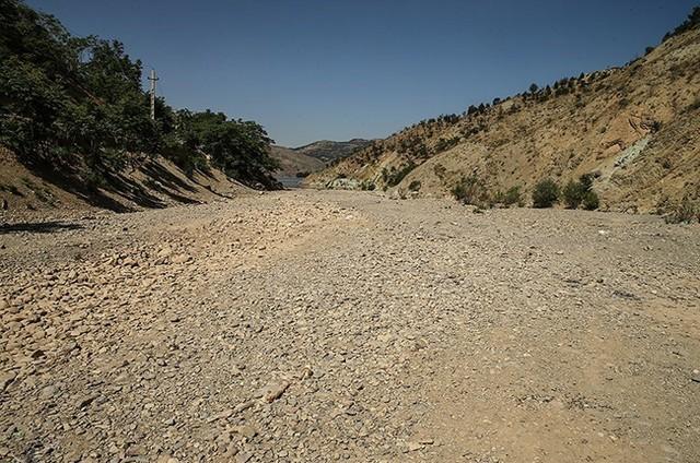ذخایر آب پایتخت در شرایط بحرانی (عکس)