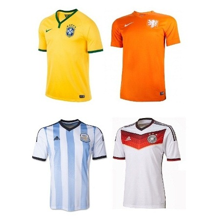 جام جهانی 2014 ؛ رقابت اصلی بین آدیداس و نایک/ پوما حذف شد
